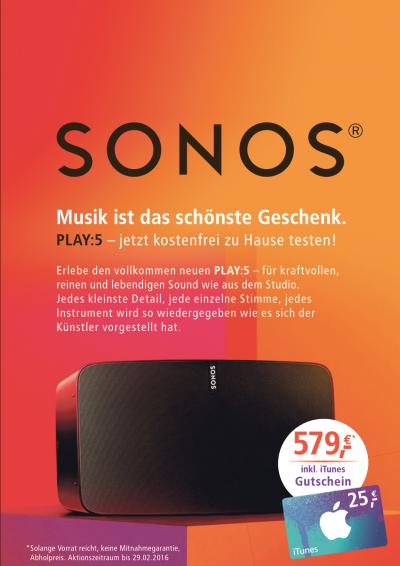 Smartraum_SONOS_iTunes_Gutschein